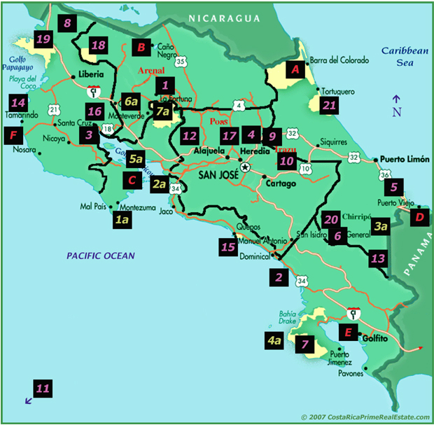 Costa Rica Real Estate-Homes-Vacation-Investment